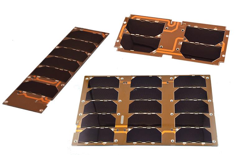 Single Cubesat Solar Panels 6 Unit Nanotechnology