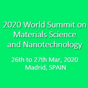 2020 World Summit on Materials Science and Nanotechnology
