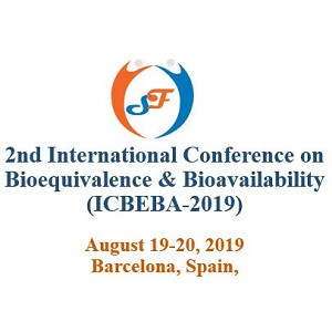 2nd International conference on Bio Equivalence and Bio Availability-2019