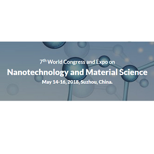 7th World Congress and Expo on  Nanotechnology and Material Science