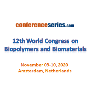 12th World Congress on  Biopolymers and Biomaterials