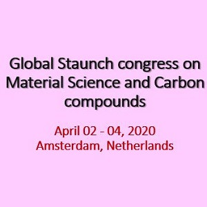 Global Staunch congress on Material Science and Carbon compounds