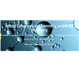 World Congress on Chemistry and Drug Discovery-2019