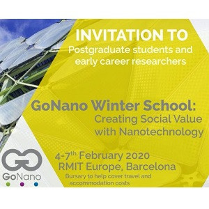 GoNano Winter School: Creating Social Value with Nanotechnology