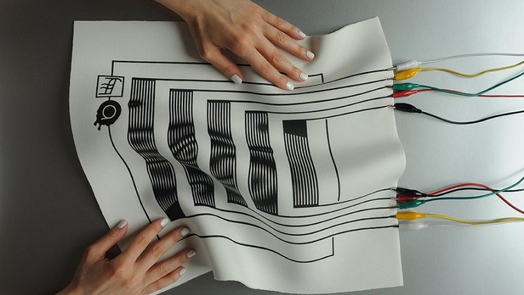 All-Inkjet-Printed Conductive Electronic Textiles