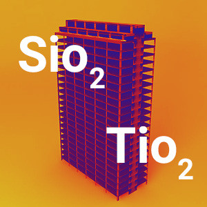 TiO2 and SiO2 Nanoparticles, Most-used Nanomaterials in Construction Industry Products