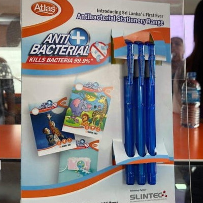 Atlas Antibacterial Stationary Range Unveiled