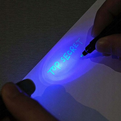 An Uncrackable Combination of Invisible Ink and Artificial Intelligence