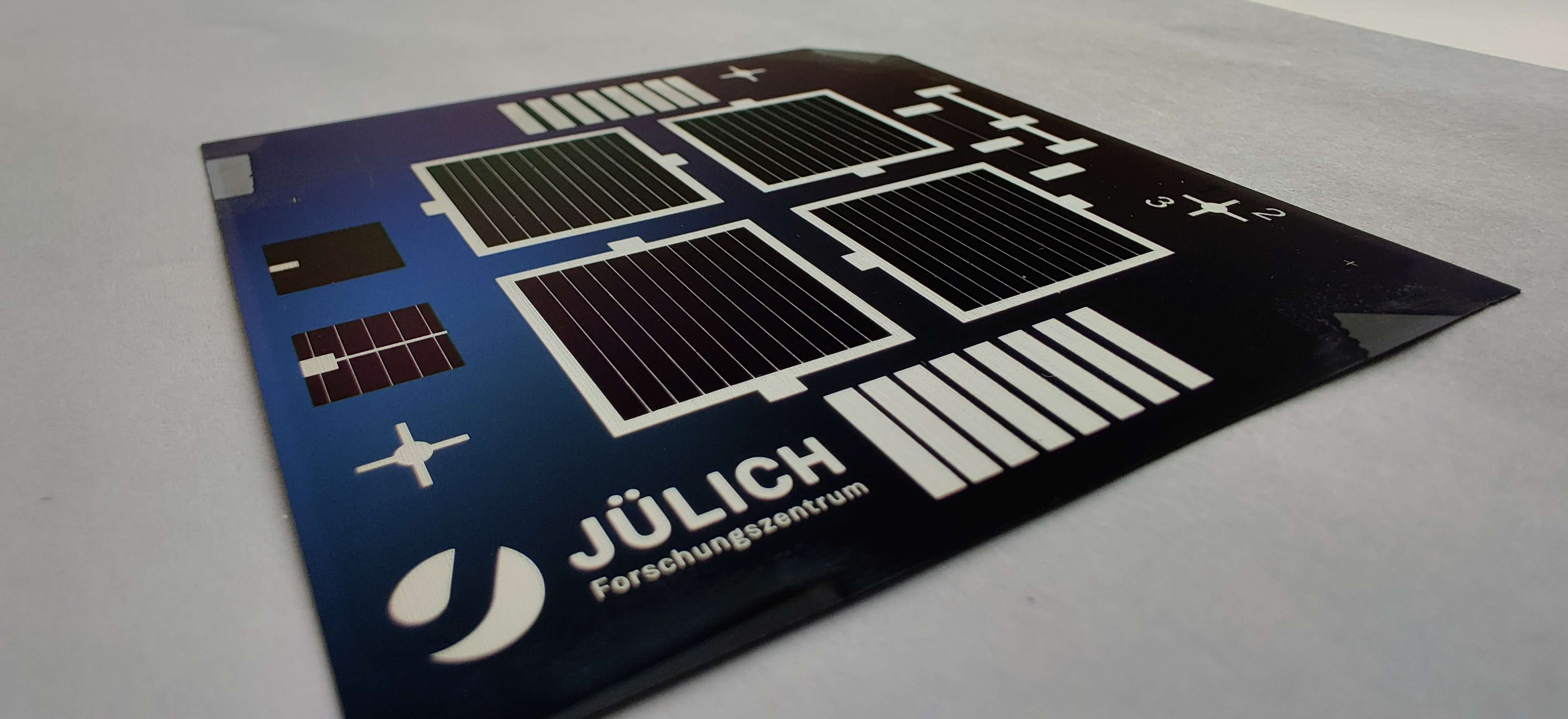 solar cells in laboratory size