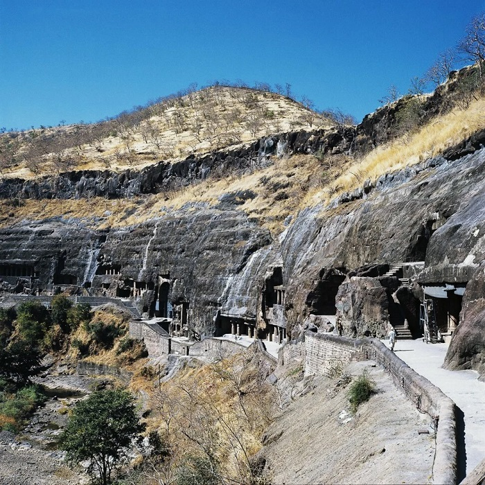 The Ajanta Caves complex