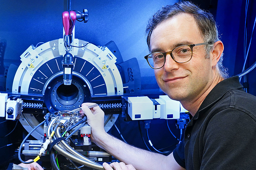 Brookhaven Lab scientist Mark Dean used the Soft Inelastic X-Ray (SIX) beamline