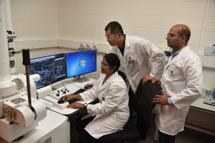 The halloysite nanotubes have dramatically accelerated research at the University of Newcastle