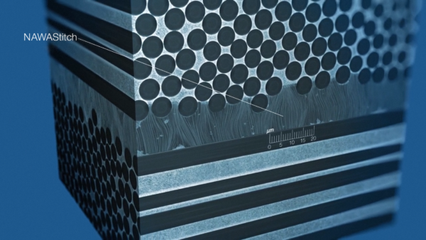 NawaStitch will use vertically aligned carbon nanotubes to reinforce the weakest part of carbon composites to make parts even lighter and stronger